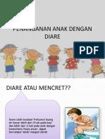 Penanganan Anak Dengan Diare