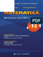 Manual Matematica Clasa XII M1