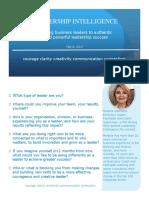 leadership intelligence blurb brochure february 2017