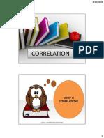 Correlation (1)