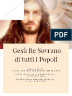 Gesù, Re Sovrano Di Tutti i Popoli_devozione Completa