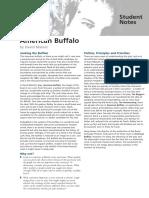 American Buffalo - Student Notes.pdf