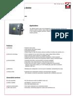 SDCEM - Fiche Technique MR41E
