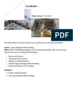 Scaffolding Accidents on Construction Sites