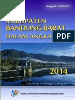 Kabupaten Bandung Barat Dalam Angka Tahun 2014