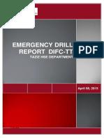 DIFC-TT Emergency Drill 6 April 15