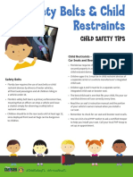 FHP Child Restraint Safety Flyer