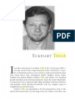 Eckhart Tolle Early Interview in March 2000 Dialogue With Emerging Spiritual Teacher Interview Text