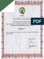 Akreditasi Teknik Geologi