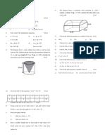 TEST 1 FORM 5 maths