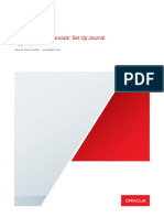 Oracle Fusion Financials Set Up Journal Approvals