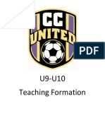 U9-U10 Teaching Formation