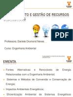 Energia Renovável - Eólica