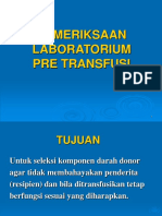 Mar31-08 Pemeriksaan Lab Pre Transfusi.ppt
