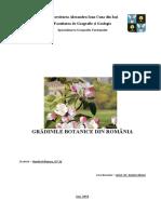 Gradinile botanice din Romania