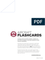 AOPA Aircraft Flashcards (Blank)