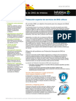 Infoblox Datasheet Advanced DNS Protection Es