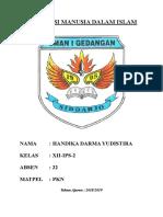 MAKALAH HAK ASASI MANUSIA DALAM ISLAM.doc