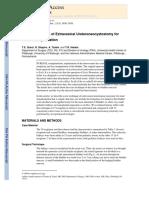 extravesical ureteroneocystostomy starzl