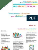 Presentacion CTE Dra Septiembre 2018-2019