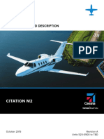 Citation M2 Specifications (2015, Oct)