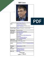 Bill Gates Di Forum Ekonomi Dunia Davos Pada Tahun 2007