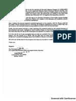 ICS School Rec Letter