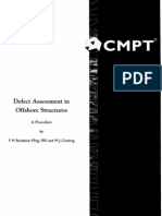 Defect Assessment in Offshore Structures