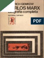 Biografia Karl Marx