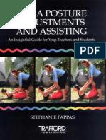 Yoga Posture Adjustments and Assiting