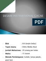 Desain Instruksional Gagne