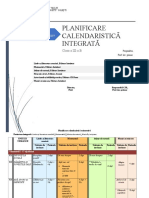 Planificare - Cls. a III-A