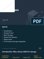 Storage in AWS