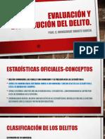 Evaluacion y Distribucion Del Delito