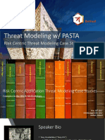 Threat Modeling With PASTA - Risk Centric Application Threat Modeling Case Studies - Tony UcedaVélez - OWASP_AppSec-Eu_2017