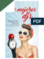 Catálogo de servicios Los Mejores Djs 2018