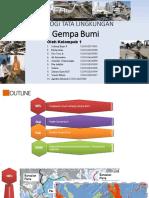 Geologi Tata Lingkungan Gempa Bumi