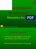Teoria Elemental de Numeros
