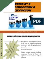Tema No 6 La Direccion