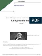 Garí, Manuel. La Hijuela de Marx