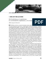 Angulo Tarancón, Mikel. Del Feudalismo Al Capitalismo La Acumulación Capitalista y Sus Orígenes