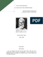 Life of NAG MAHASAY - By Sarat Chandra Chakravarti A Disciple of Swami Vivekananda