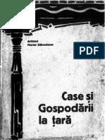 Stanculescu, Florea, Case si gospodarii la tara