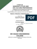 thesis questionnaire leadership Master thesis: female and gender leadership authors: ainura kadyrkulova tutor: dr pr phillippe daudi and pr mikael lundgren program: the business program.