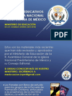 2015 Materiales Educativos de La INPM
