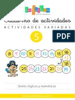 Cuadernillo Infantil Actividades Variadas