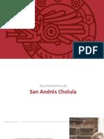San Andrés Cholula - Presentación a Medios