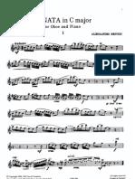 Sonata Do Mayor Oboe ( Besozzi )