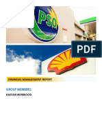 PSO Shell Report- Financial Management
