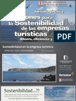 Soluciones Para La Sostenibilidad de Las Empresas Turisticas